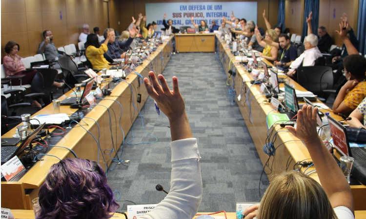 cns aprova recomendação pela revogação imediata da portaria 2979