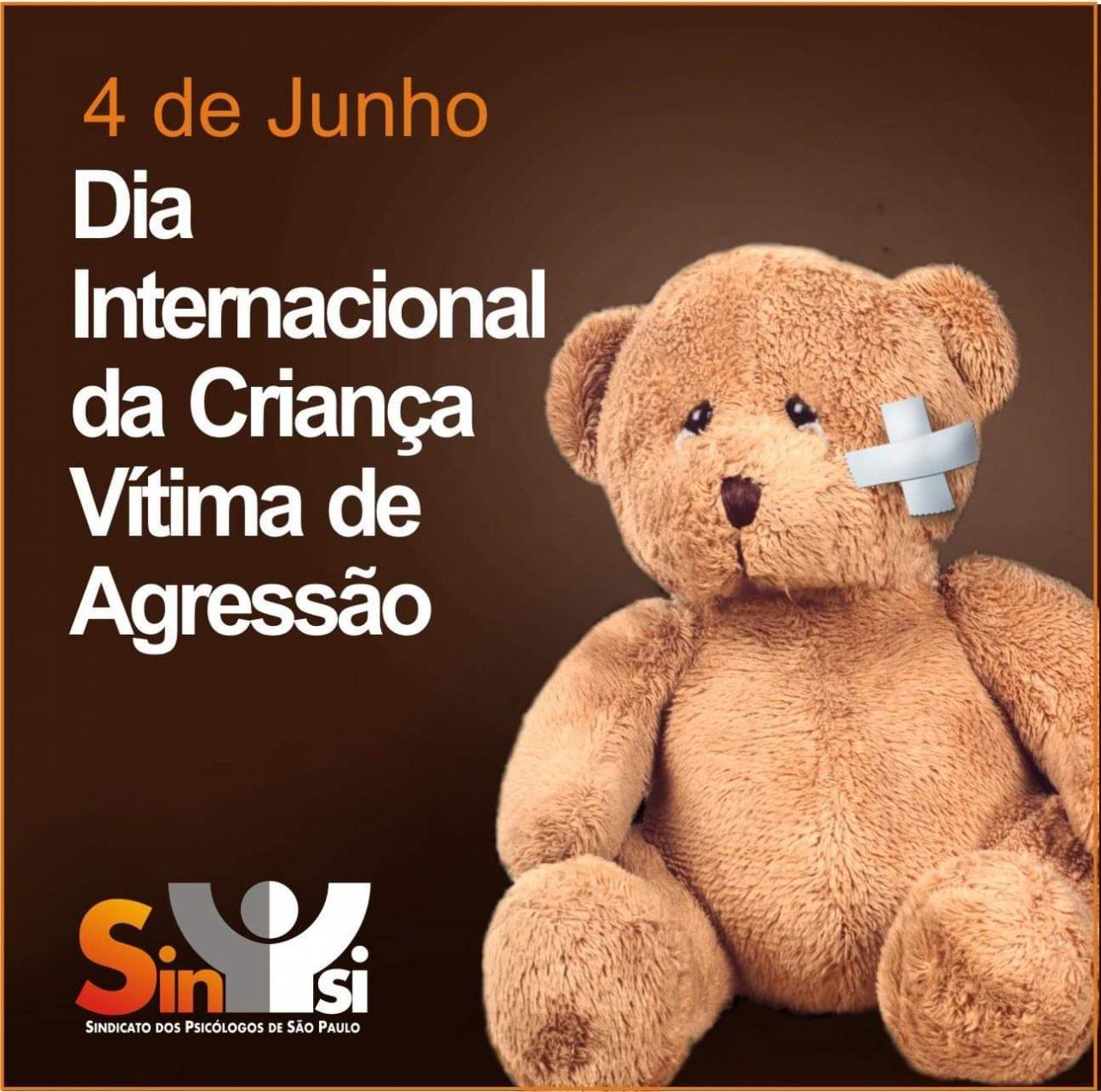 dia internacional da criança vítima de agressão